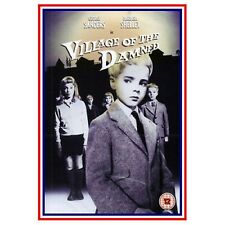VILLAGE OF THE DAMNED DVD George Sanders Barbara Shelley Original UK Rele New R2