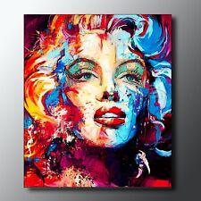 QUADRO Marilyn Monroe dipinto opera unica  pintura abstract painting pop art