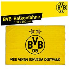 BVB Borussia Dortmund Hissfahne Sterne Karo Mein Verein Hochformat Flagge Fahne