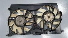 VAUXHALL OPEL VECTRA C MK2 02-08 2.0 DTI Y20DTH DUAL TWIN RADIATOR FAN 13114370