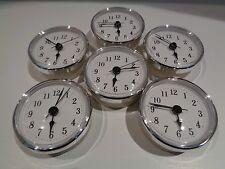 "20 PAK Premium 2-1/2""(65mm)Youngtown Quartz Clock Insert,Choose color & numerals"