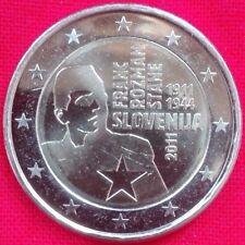 *SLOVENIA 2011 2 EURO COMM. 100° NASCITA FRANC ROZMAN FDC  LEGGI OFFERTA