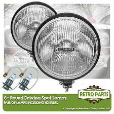 """6 """" Roung Fahr spot-lampen für Fiat 124 spider. Lichter Fernlicht Extra"""