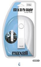 Maxell USB to 30-Pin iPod Shuffle Adapter P-26