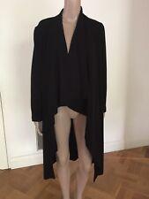 MELA PURDIE Women's Long  Black Jacket Size 6 XXS New Without Tags