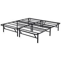 Luis Quick Lock 14 Inch Metal Platform Bed Frame King