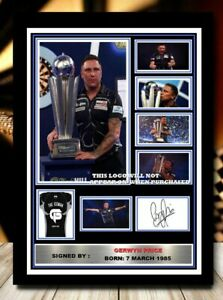 (501) gerwyn price darts signed photograph unframed/framed reprint great gift