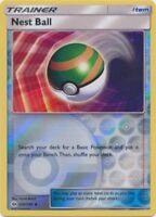 Pokemon: Nest Ball - 123/149 - Uncommon - Reverse Holo - Sun & Moon: Base Set