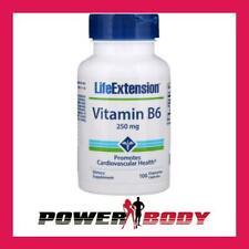 Life Extension - Vitamin B6, 250mg - 100 vcaps