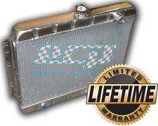 THE BEST 1964 - 1965 Chevelle HD Aluminum Radiator - NO 3 ROW GIMMCKS