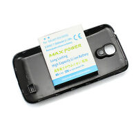 5600mAh Extended Battery + Black Back Case Cover For Samsung Galaxy S4 SIV i9500