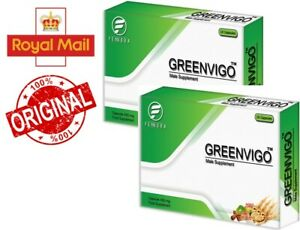 2 x GreenVigo, Ultra Strong Male Virility Sexual Performance! Sexual desire!!!