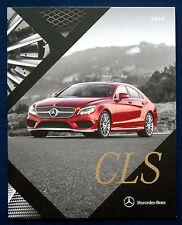 Prospekt brochure 2016 Mercedes CLS Class (USA)