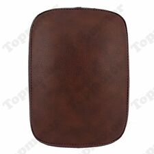 Brown Pillion Pad Seat 8 Suction Cup For Harley Sportster Dyna Softail XL Custom