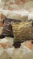 Eastern Accents Hand Crafted Throw Pillow Set, 2 pieces, 20 x 20