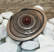 Stargate SG1 Dial Home Device 2 Pin Badge Cosplay Costume Art Prop Replica