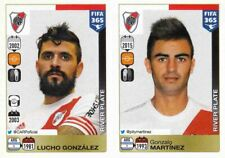 Panini Sticker Fifa 365 2016 Nr. 123 Lucho Gonzalez124  Gonzalo Martinez NEU
