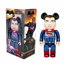 Medicom DC Comics Bearbrick - BVS Batman Dawn Justice 400% Superman Be@rbrick