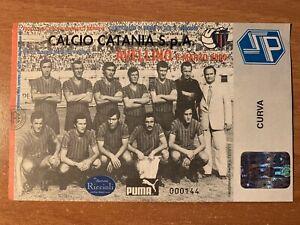 BIGLIETTO STADIO TICKET CATANIA-AVELLINO 1999/'00