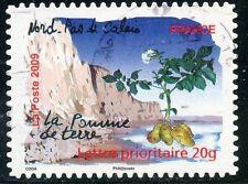 TIMBRE FRANCE AUTOADHESIF OBLITERE N° 302 / FLORE DES REGIONS LA POMME DE TERRE