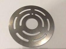 Hydraulic Pump Valve Plate B51, 50-051847 Stainless Steel, 61mm Diameter