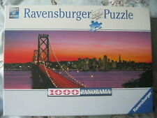 "RAVENSBURGER ""SAN FRANCISCO BRIDGE"" 1000 PIECE PANORAMA CHALLENGE JIGSAW PUZZLE"