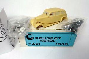 PEUGEOT 401 DL TAXI 1953 - KIT RÉSINE CCC  1/43