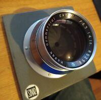 Kodak Commercial Ektar 14in f6.3 Barrel Lens in Sinar mount (8x10)
