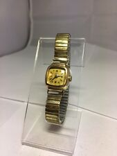 Vintage Ladies Avia Watch Expanding Strap 20 Microns Rolled Gold Bezel 15 Jewels