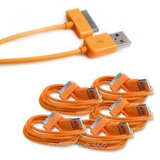 5 3FT USB SYNC DATA POWER CHARGER ORANGE CABLE IPHONE 4S IPOD TOUCH CLASSIC IPAD