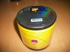 trecciato pesca spectra dyneema GOAL Japan 120 lb 0.50 mm 1000 mt giallo