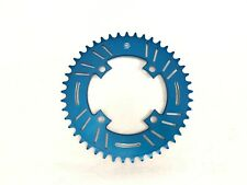 Snap BMX Products S4 104mm 4 bolt Chainring - 45t Blue