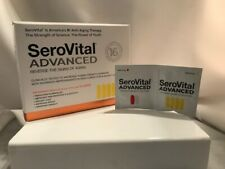 SeroVital Advanced Strength Dietary Supplement 30 Day/180 Capsules Exp 09/22 NEW