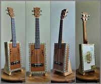 """Cigar Box Tenor Ukulele - """"Arturo Fuente Cigar Box"""" - Acoustic & Electric"""