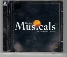 (HO728) The Best Musicals In The World ... Ever! - 1999 double CD