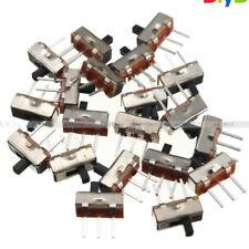 20PCS SS12D00G3 2 Position SPDT 1P2T 3Pin PCB Panel Mini Vertical Slide Switch D