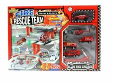 ZERBO TRACK SET Fire Rescue Team - a Track Length of 315 cm with 43 Pieces of...