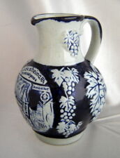 Vintage Rudesheim/aRh Drosselgasse Small Stoneware Jug Pitcher (West Germany)