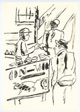 """Fernand Leger print from """"Mes Voyages"""" 33188"""