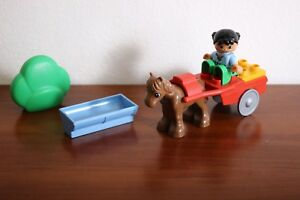 Lego Duplo Town Recreation Set 4683-1 Pony and Cart 100% complete