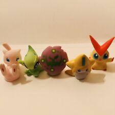Mythical Bundle Mew Celebi Spiritomb Jirachi Pokemon Nintendo Bandai Figures d