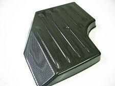 Vauxhall Corsa D Caja de Fusible Cubierta de fibra de carbono de plástico ABS
