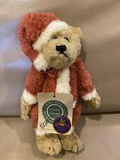 "Boyds' Bears ""Nicholas"" Santa Claus Stuffed Bear with Tag 8"""