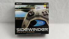Microsoft Sidewinder 4 Buttons Plug And Play Gamepad USB new