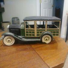 Vintage Hubley Die Cast Metal Toy Car Rat Rod Wagon Lancaster,Pa. 1950's