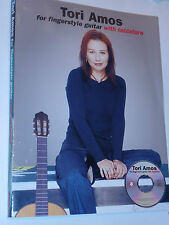 TORI AMOS CD GUITAR fingerstyle PARTITION Sheet MUSIC chansons paroles SONGBOOK