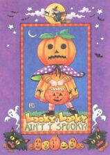 Looky Looky Ain'T I Spooky?-Handcrafted Halloween Magnet-w/Mary Engelbreit art