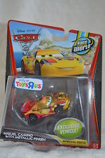 Disney Pixar Cars 2 MIGUEL CAMINO With METALLIC FINISH Toys R us Exclusive NIP