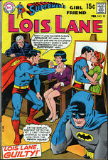 DC Superman's Girl Friend Lois Lane #99 (1970) Batman App. - No stock images