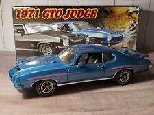 GMP 1971 Pontiac GTO The Judge 1:18 Scale Diecast Model Car LE Blue 1/600